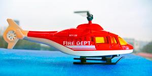 Пожарный вертолёт.  Новые видео для детей.  Игрушки для мальчиков.