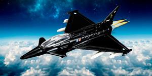 Новые видео для детей.  Истребитель Eurofighter Typhoon.  Распаковка игрушек для мальчиков.